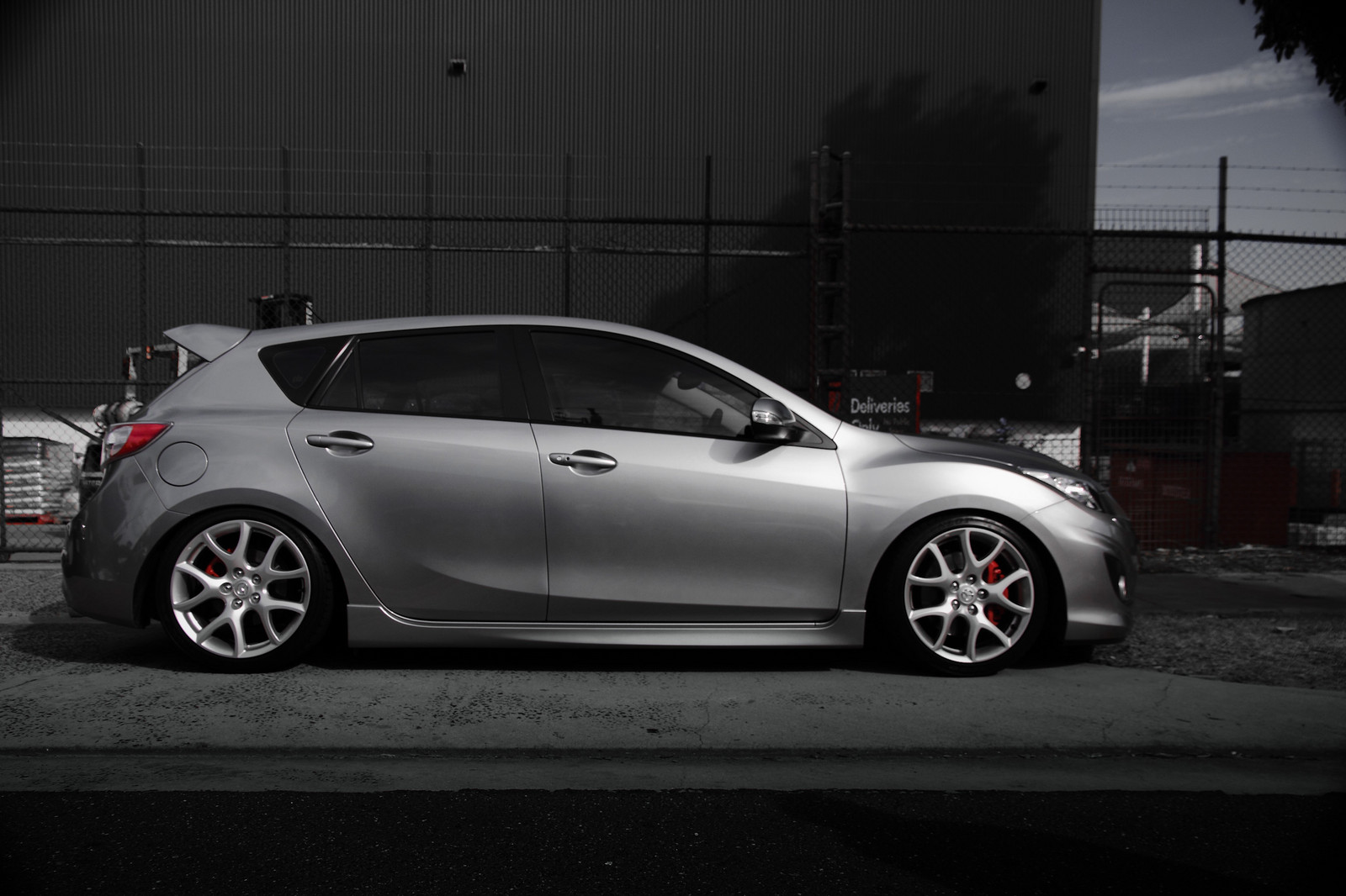 2010 Aluminium Mazda 3 Mazdaspeed 3 Pictures Mods Upgrades
