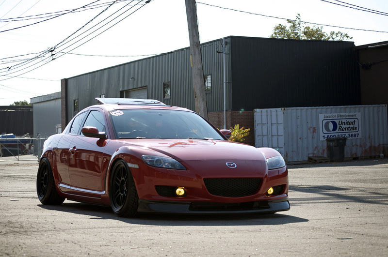 mazda rx8 modified red. 2004 velocity red mazda rx8 gt picture mods upgrades rx8 modified