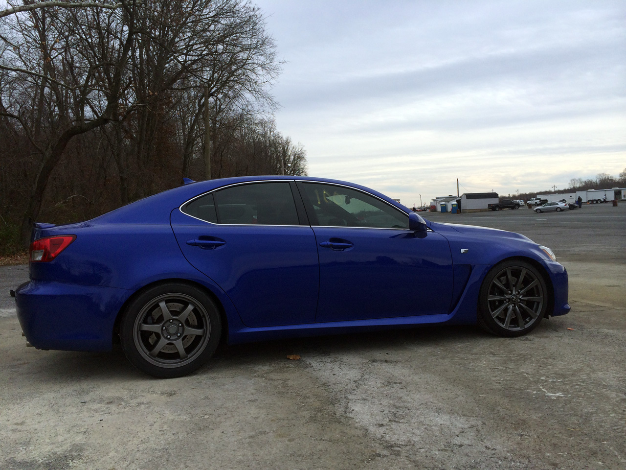 2008 Blue Lexus IS-F  picture, mods, upgrades