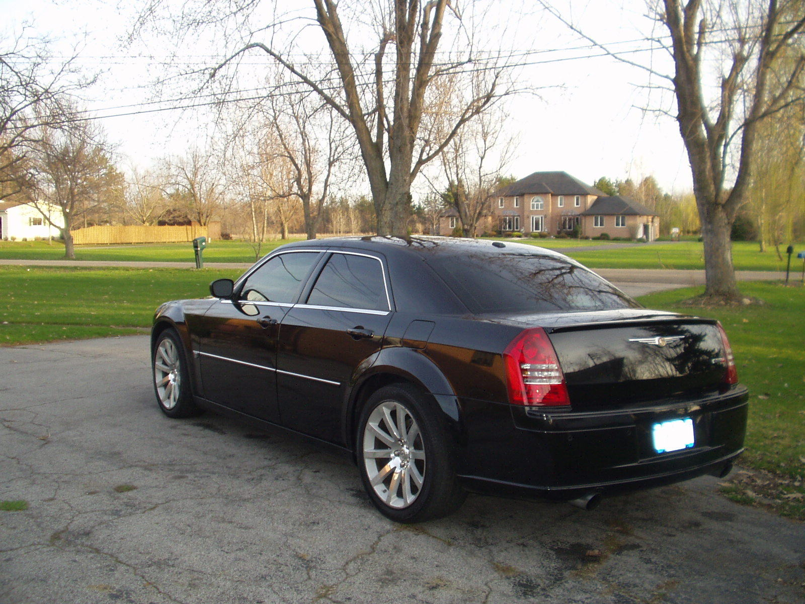 Black 2007 Chrysler 300 Srt8