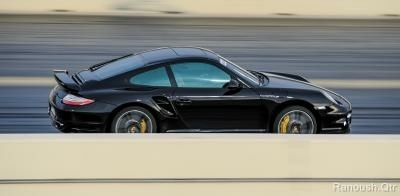 Black 2013 Porsche 911 Turbo S