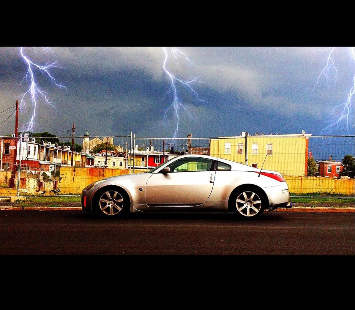 2004 Silver Nissan 350Z  picture, mods, upgrades