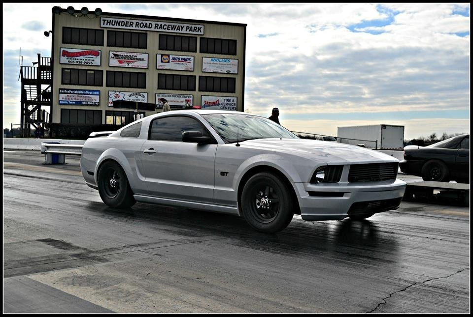 2007 Satin Silver Ford Mustang GT Paxton 2200 picture, mods, upgrades