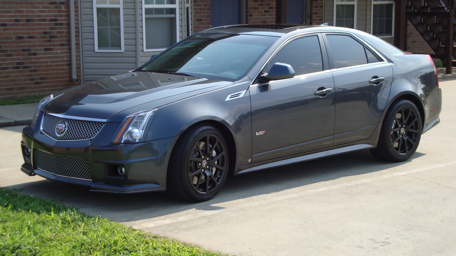 2009 cadillac cts v 1 4 mile drag racing timeslip specs 0. Black Bedroom Furniture Sets. Home Design Ideas