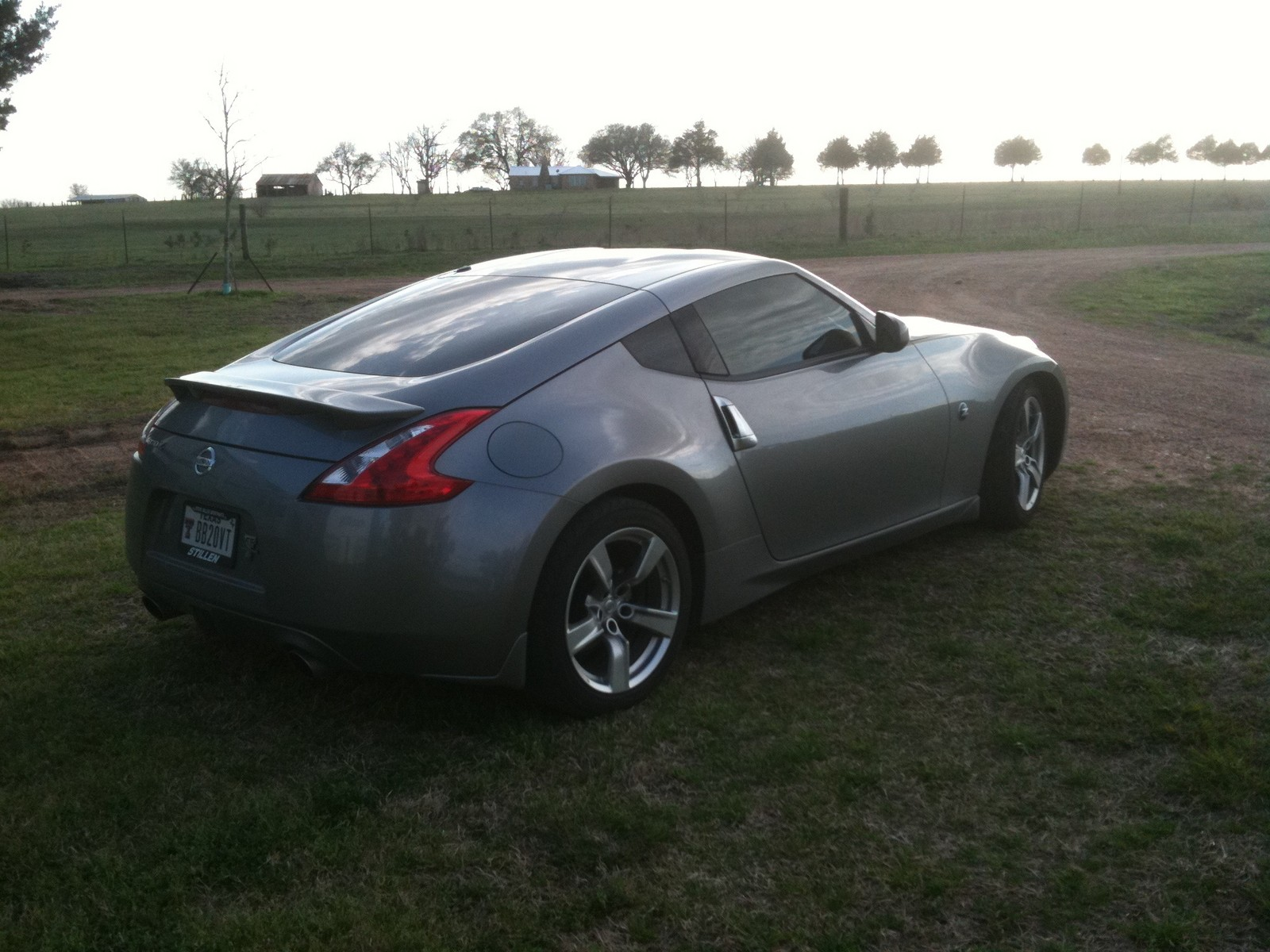 Platinum graphite 2009 Nissan 370Z Base A/T