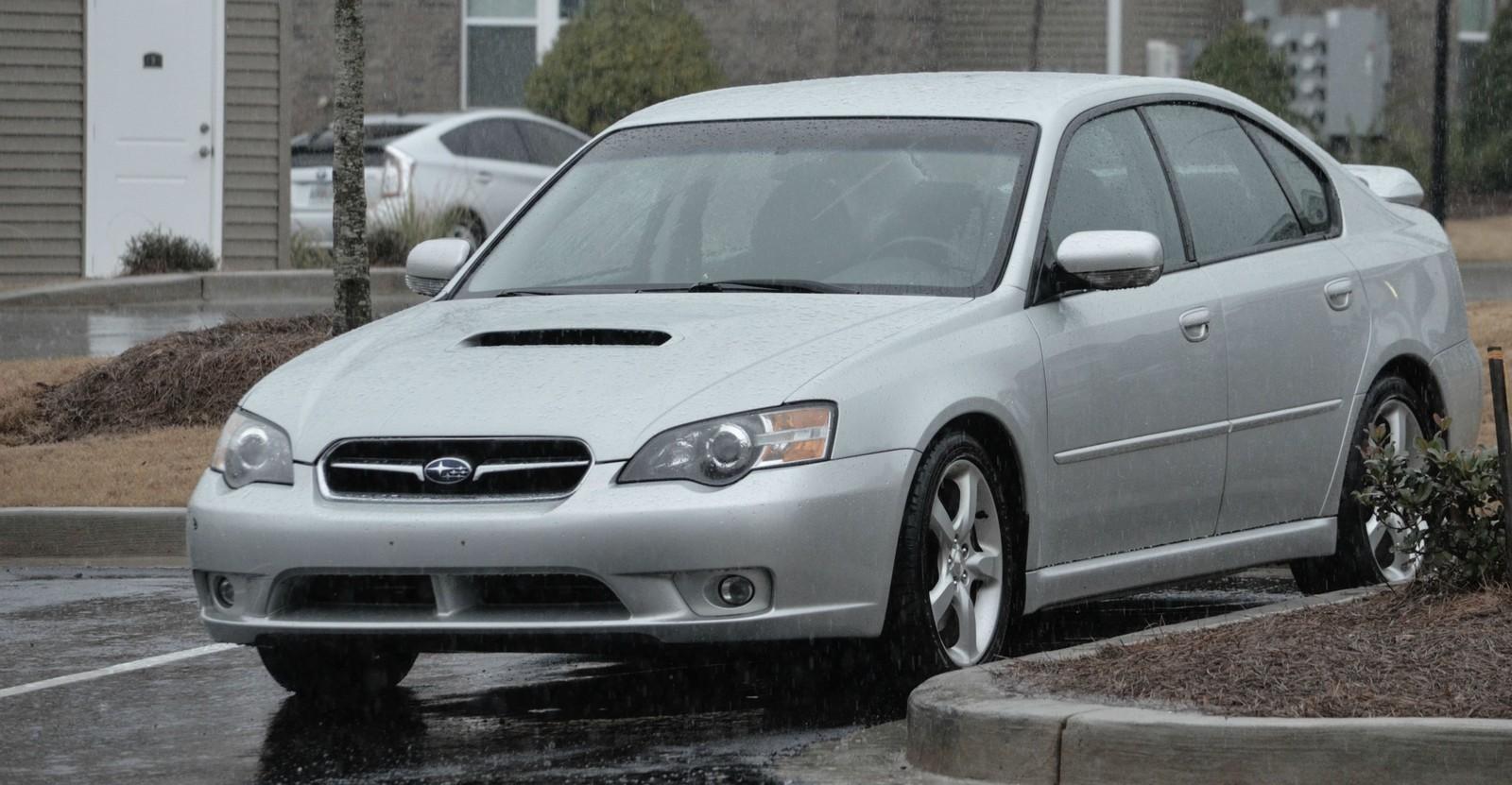 Silver 2005 Subaru Legacy 2 5gt