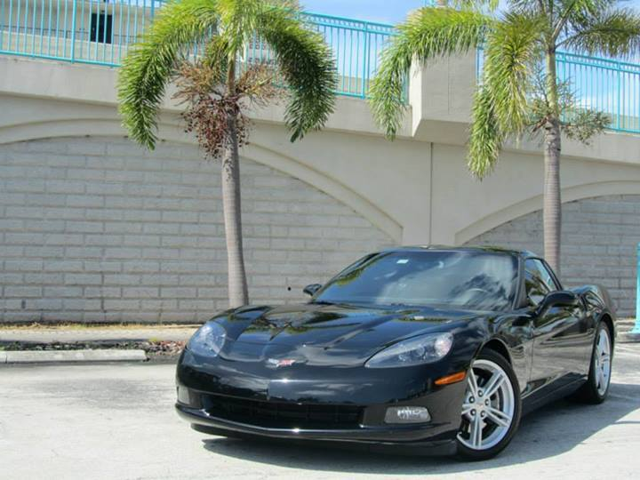 Black 2010 Chevrolet Corvette 3LT (6 speed manual)