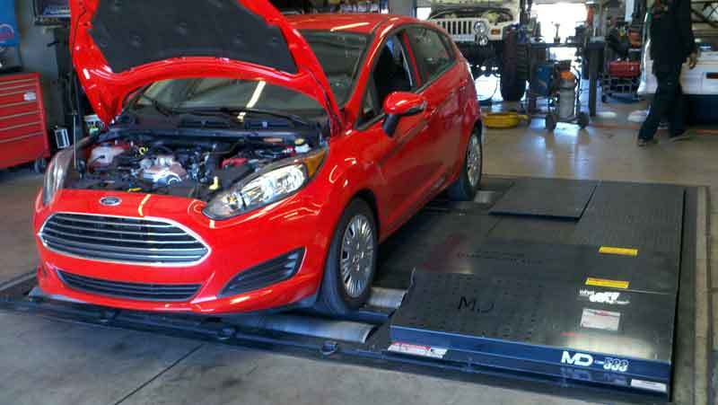 Race Red 2014 Ford Fiesta SFE 1.0L Ecoboost