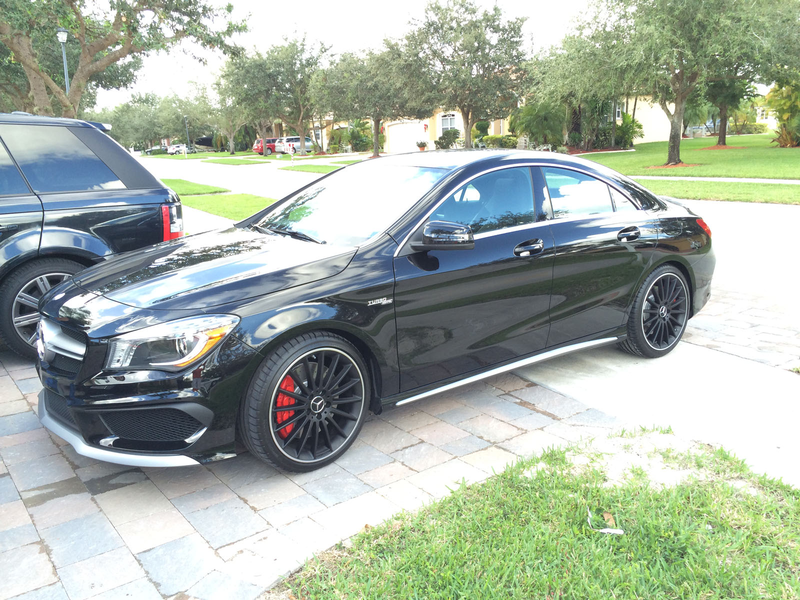 2014 black mercedes benz cla45 amg pictures mods upgrades wallpaper. Cars Review. Best American Auto & Cars Review