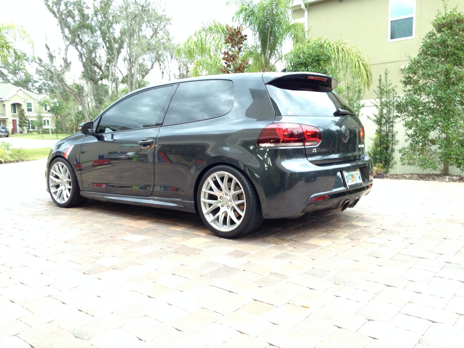 Carbon Steel Gray 2012 Volkswagen Golf R
