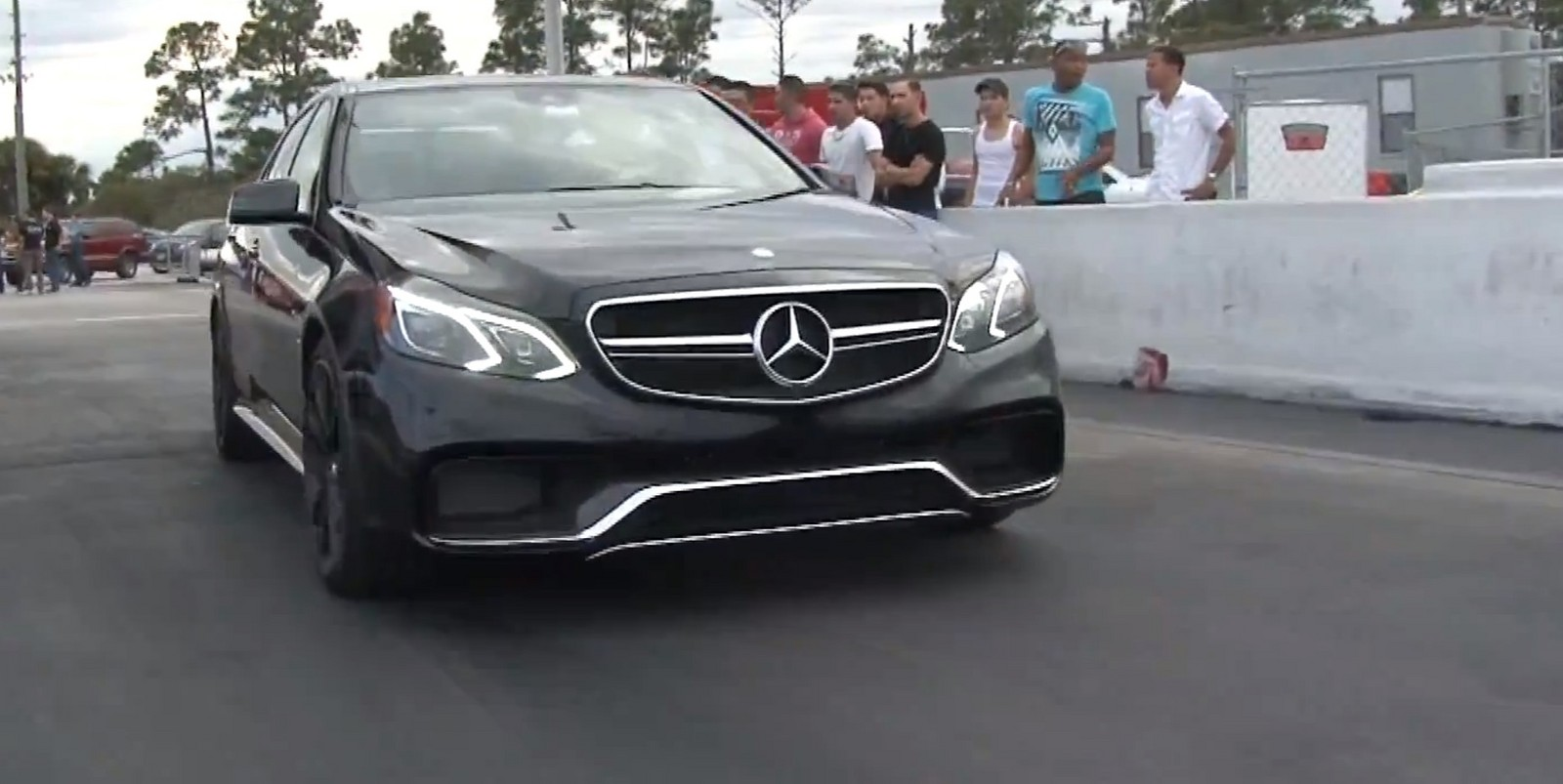 Black 2014 Mercedes-Benz E63 AMG S AWD