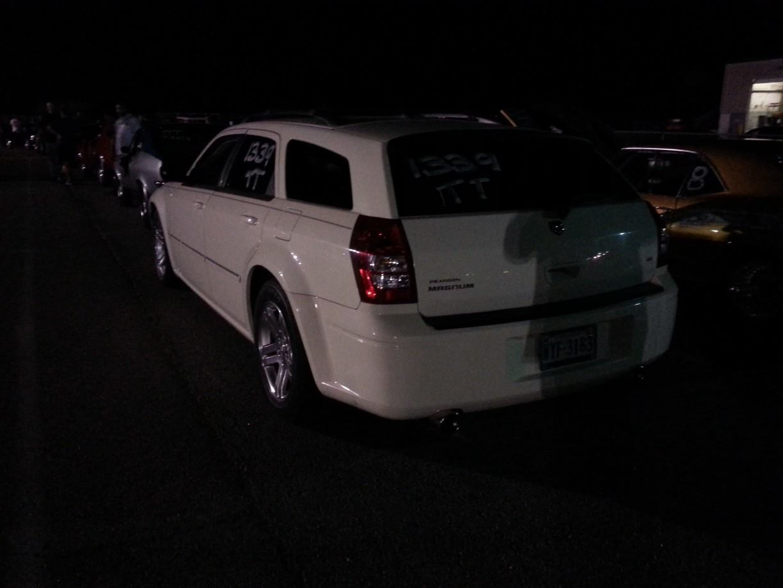 2005 Dodge Magnum rt 14 mile Drag Racing timeslip specs 060