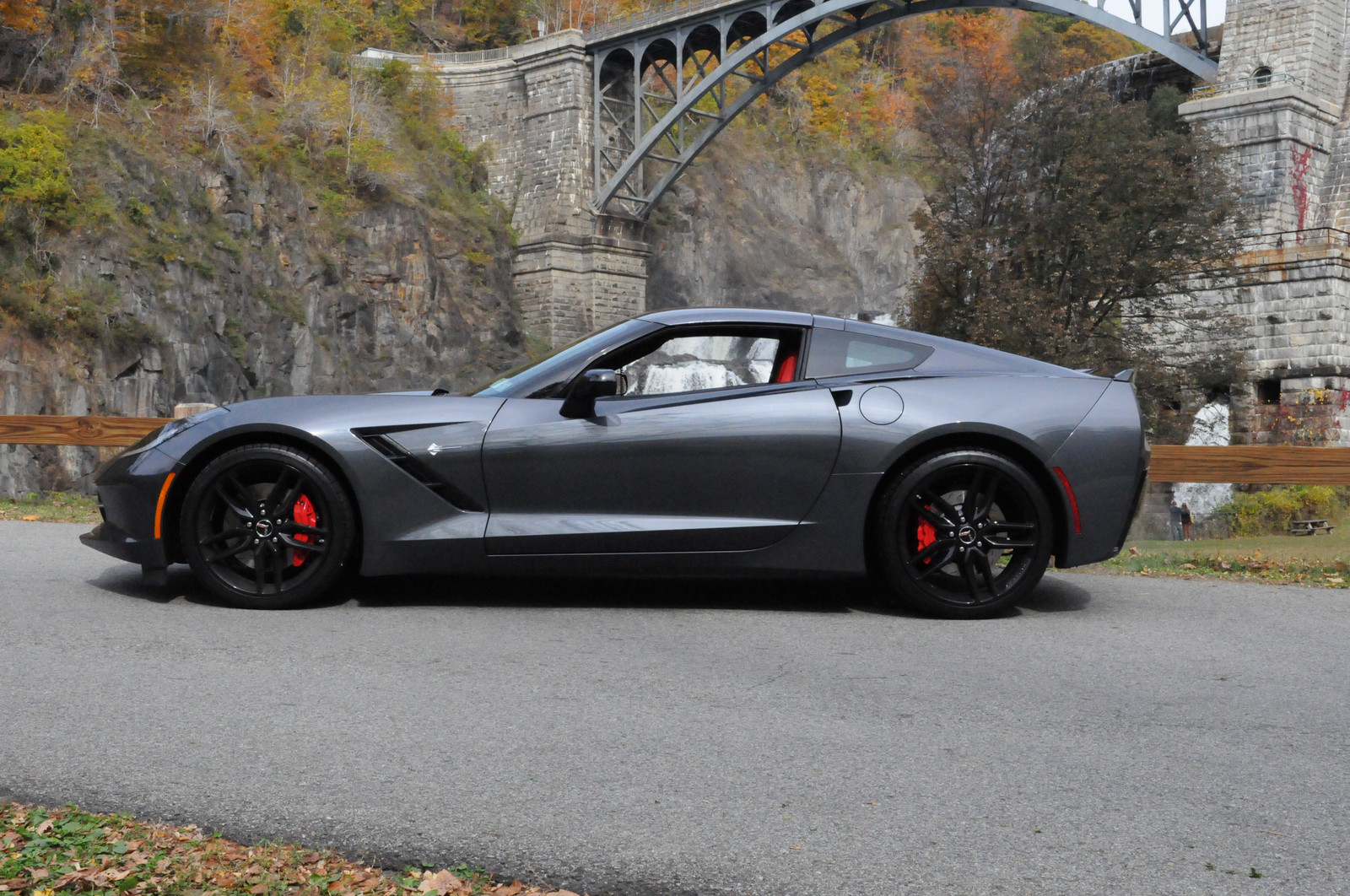 Cyber Grey 2014 Chevrolet Corvette Z51 7spd Manual Supercharged