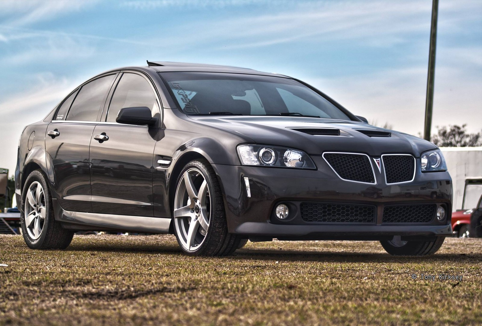 Magnetic Grey Metallic 2008 Pontiac G8 GT