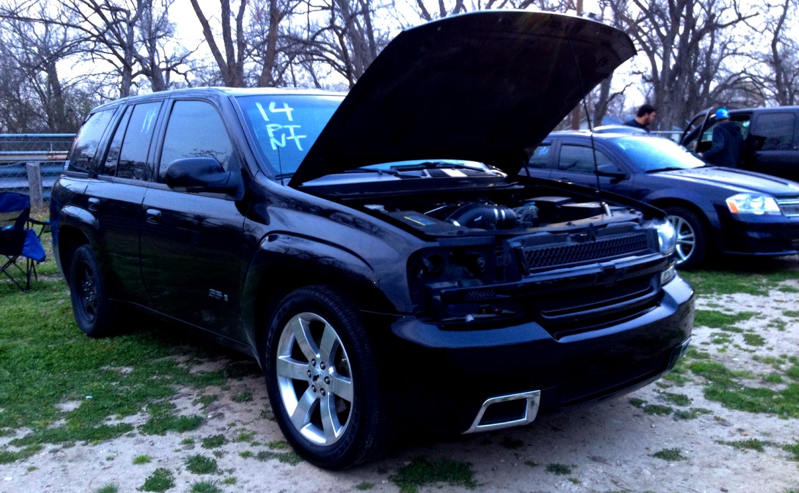 2008 Black Chevrolet TrailBlazer SS Pictures, Mods ...
