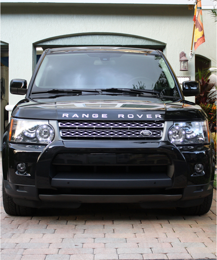 Black 2010 Land Rover Range Rover Sport Supercharged