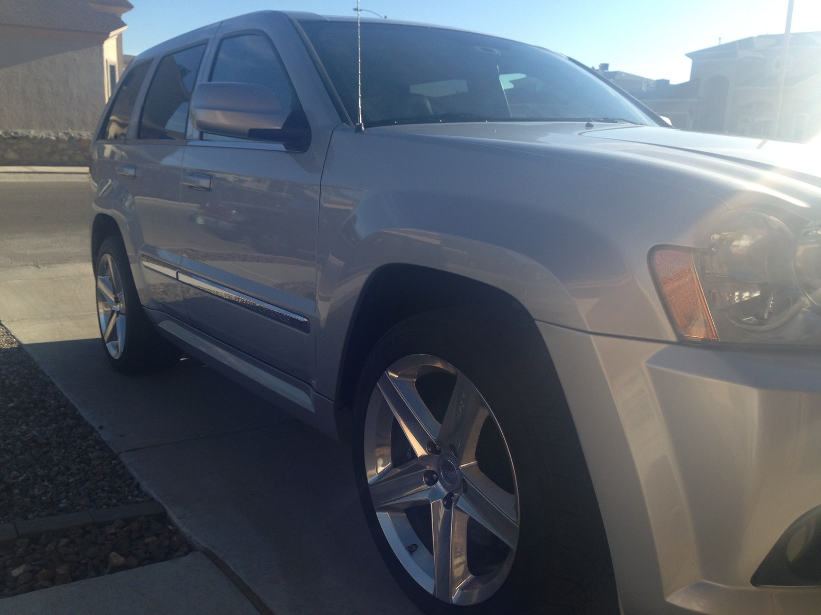 2006 Silver Jeep Cherokee SRT8  picture, mods, upgrades