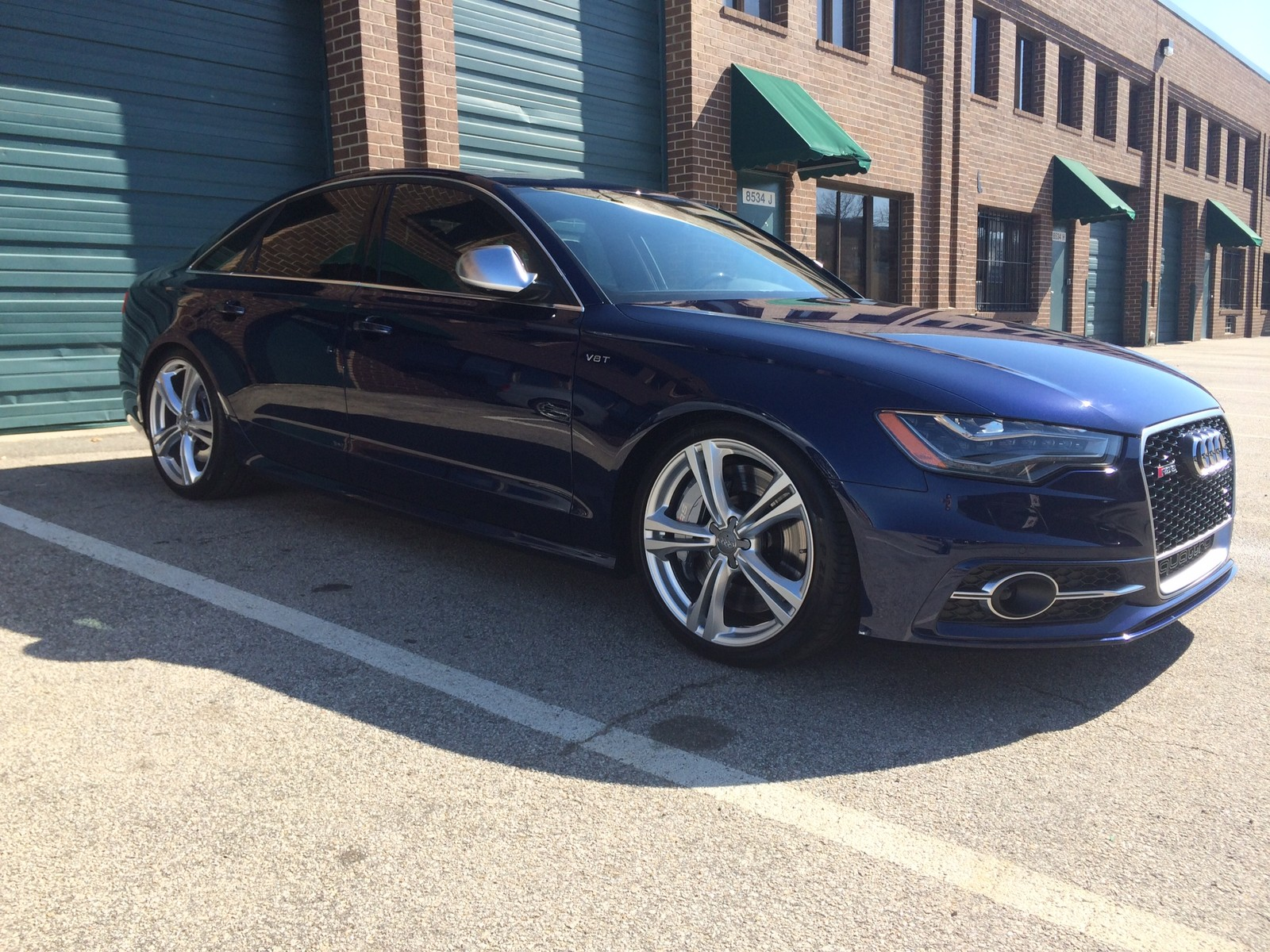 Estoril Blue 2013 Audi S6