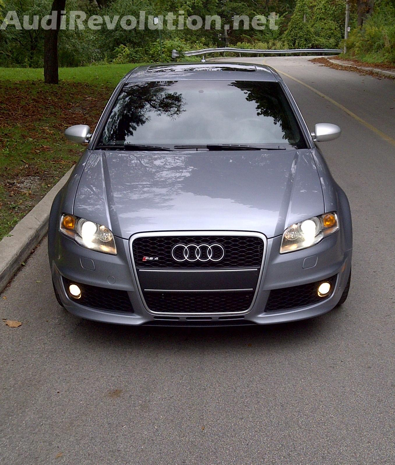 2008 Avus Silver Audi RS-4  picture, mods, upgrades