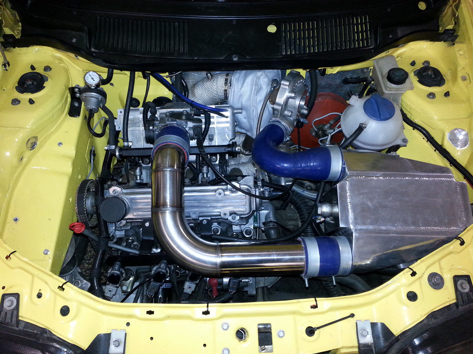 1997 Yellow Fiat Punto Gt Pictures Mods Upgrades