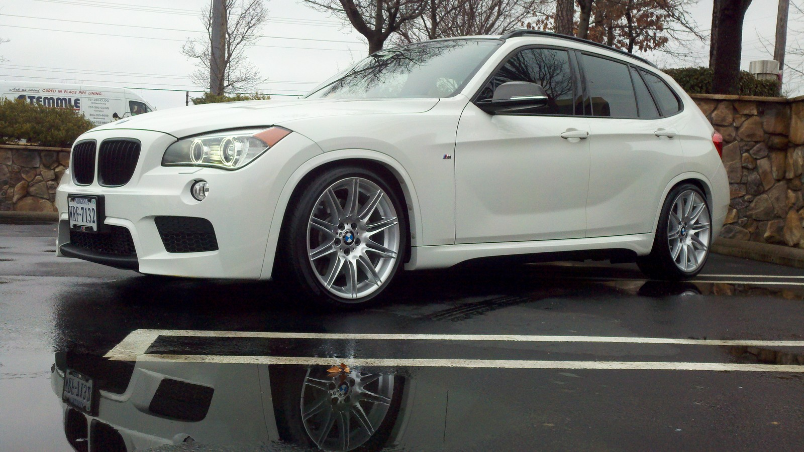 2014 white BMW X1 35i m sport picture, mods, upgrades