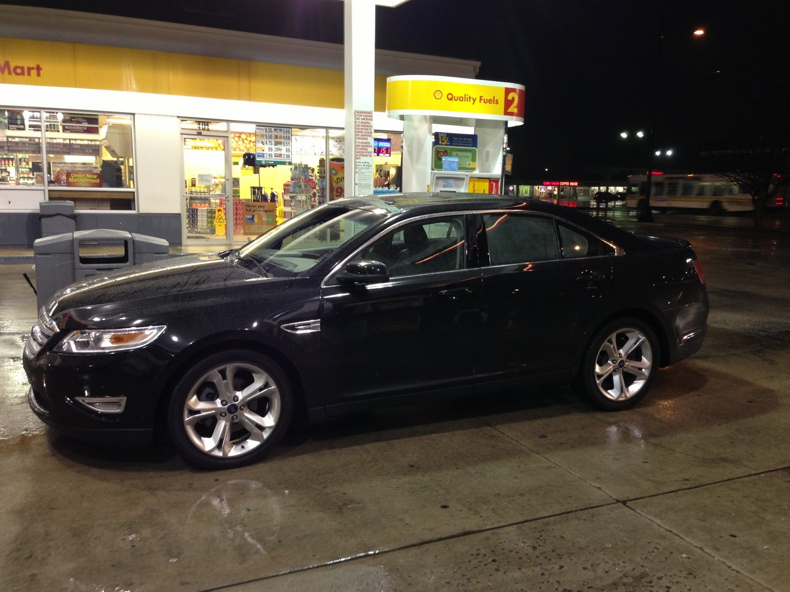 2010 tuxedo black ford taurus sho picture mods upgrades