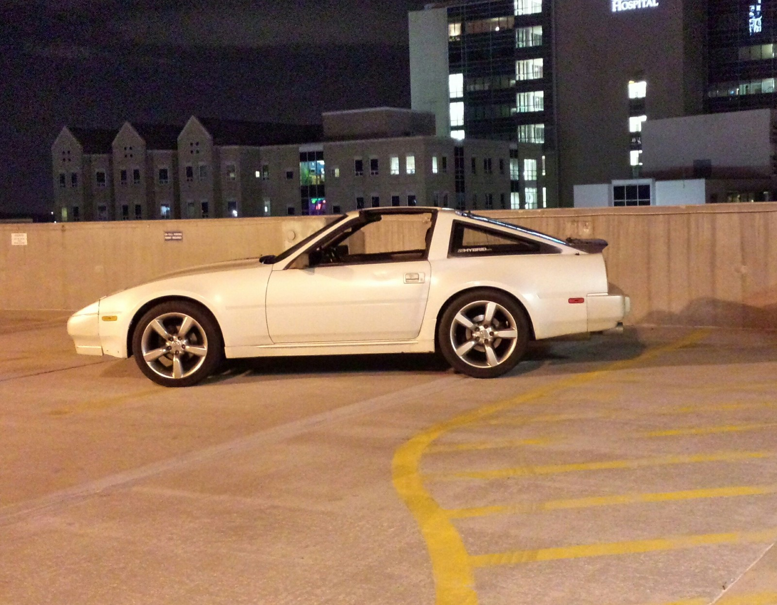Pearl White 1988 Nissan 300ZX Shiro Special