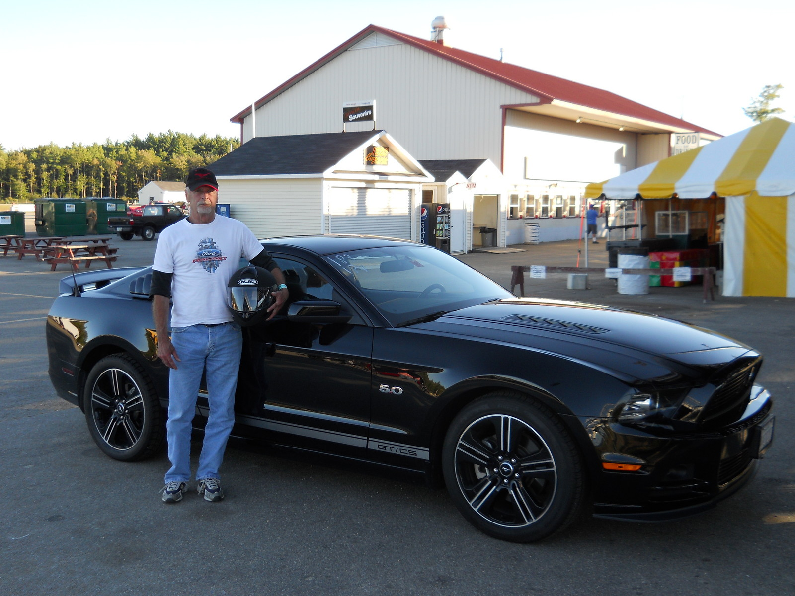 Black 2013 ford mustang gt cs