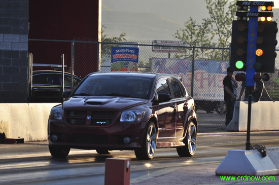 Red 2008 Dodge Caliber SRT-4