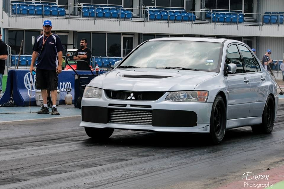 2003 Silver Mitsubishi Lancer EVO GSR picture, mods, upgrades