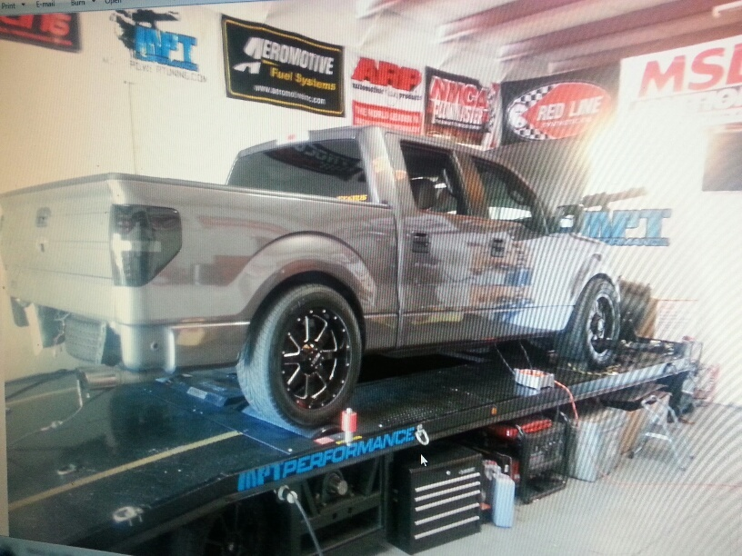 2011 grey Ford F150 Roush f150 picture, mods, upgrades