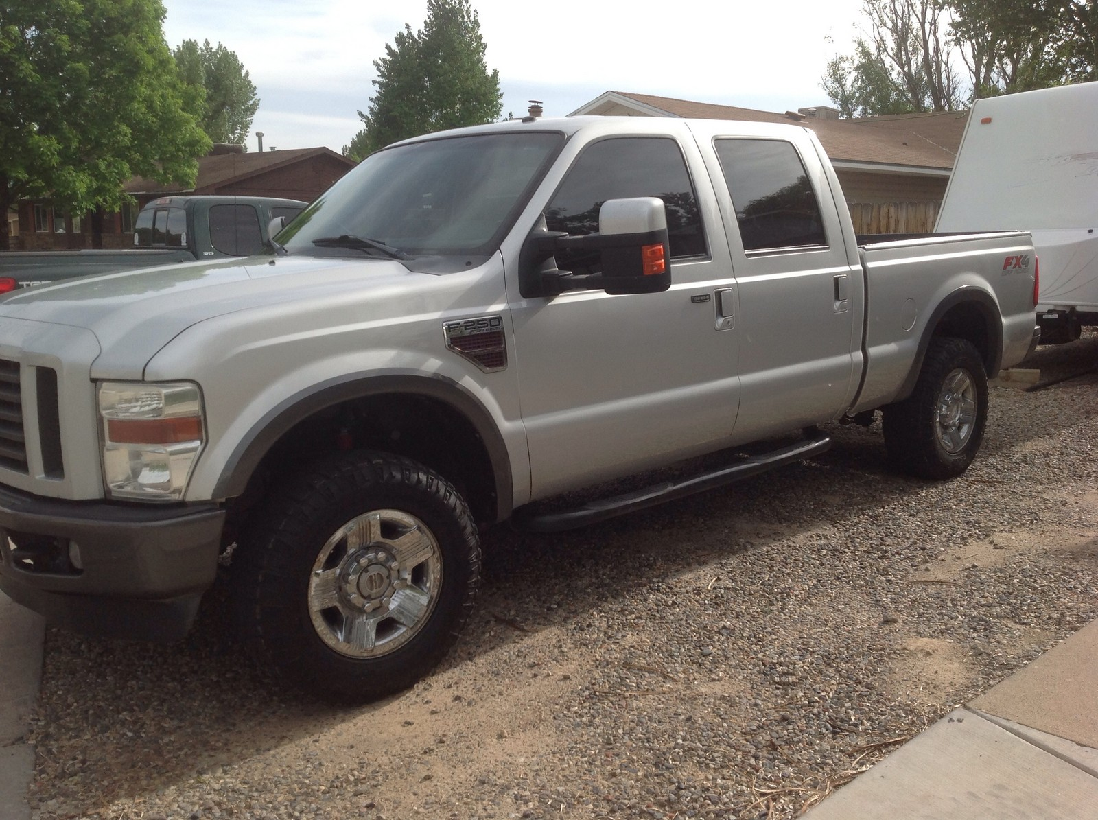 Ford Extended Warranty >> 2008 Ford F250 FX4 1/4 mile Drag Racing timeslip specs 0-60 - DragTimes.com