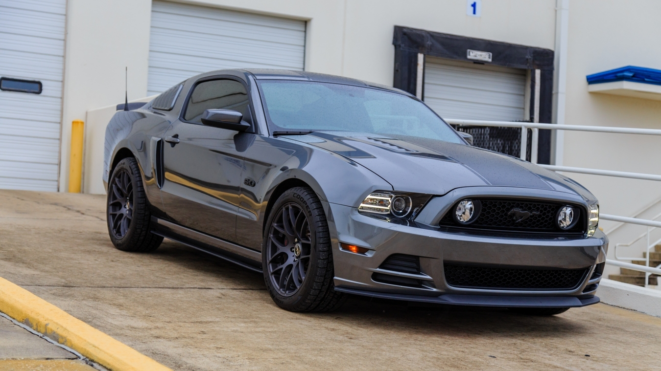 Sterling grey metallic 2013 ford mustang gt