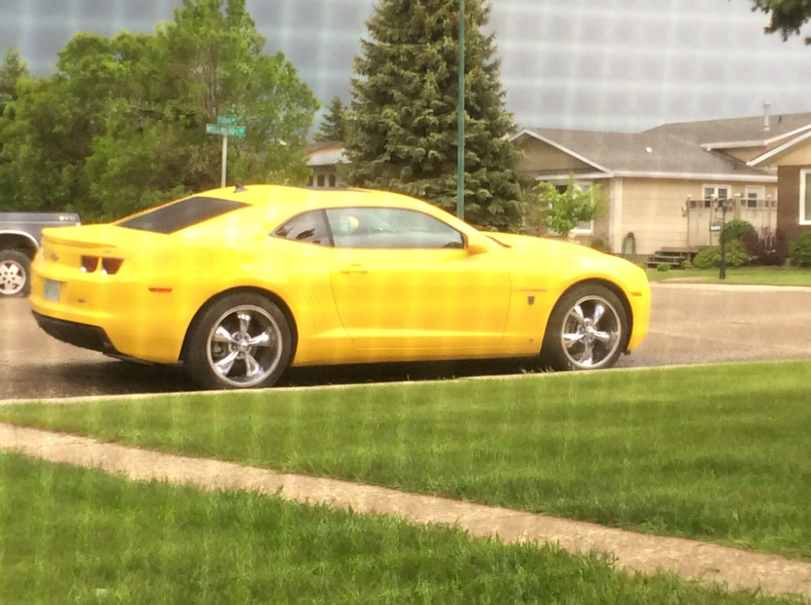 RS Yellow 2010 Chevrolet Camaro 1LT