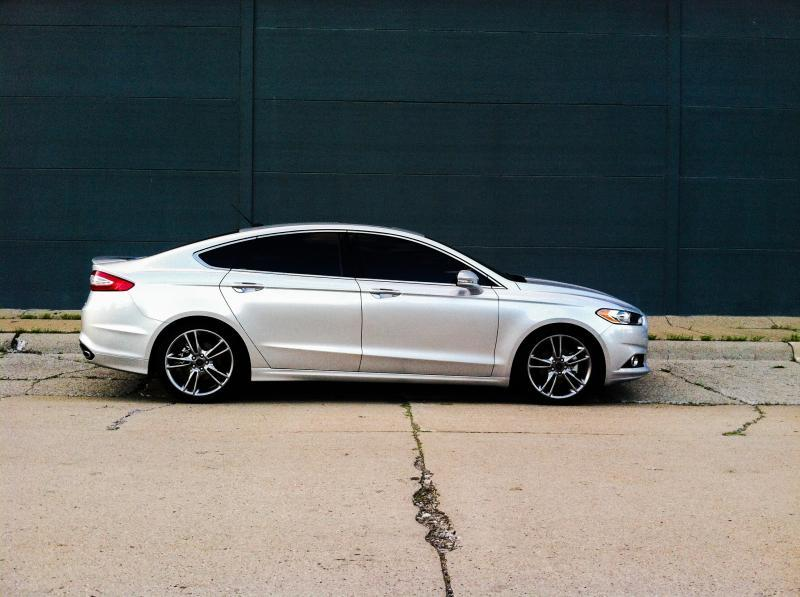 2014 Ford Fusion Titanium 1 4 Mile Drag Racing Timeslip