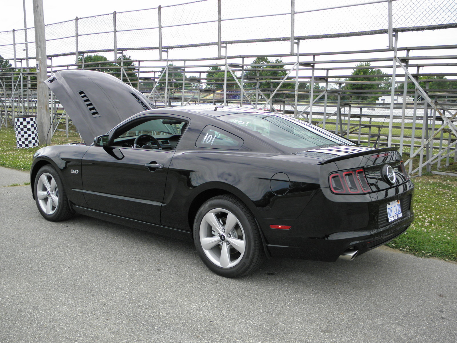 2014 black ford mustang gt picture mods upgrades