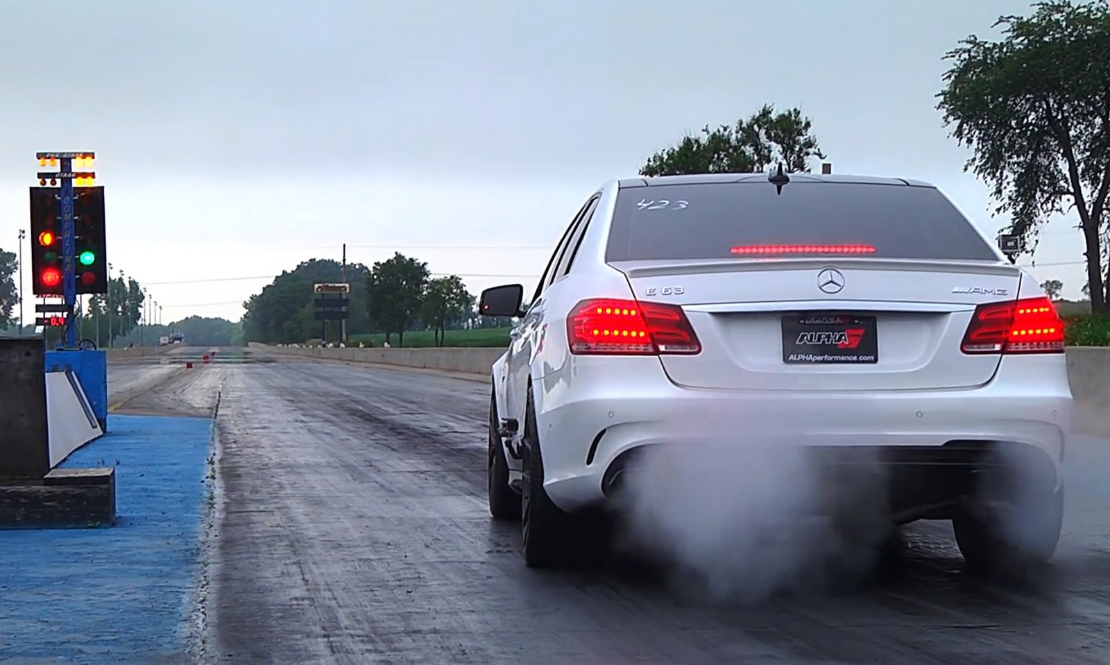 700hp Mercedes E63 Amg S Awd Runs In The 10 S With Ams Tune And