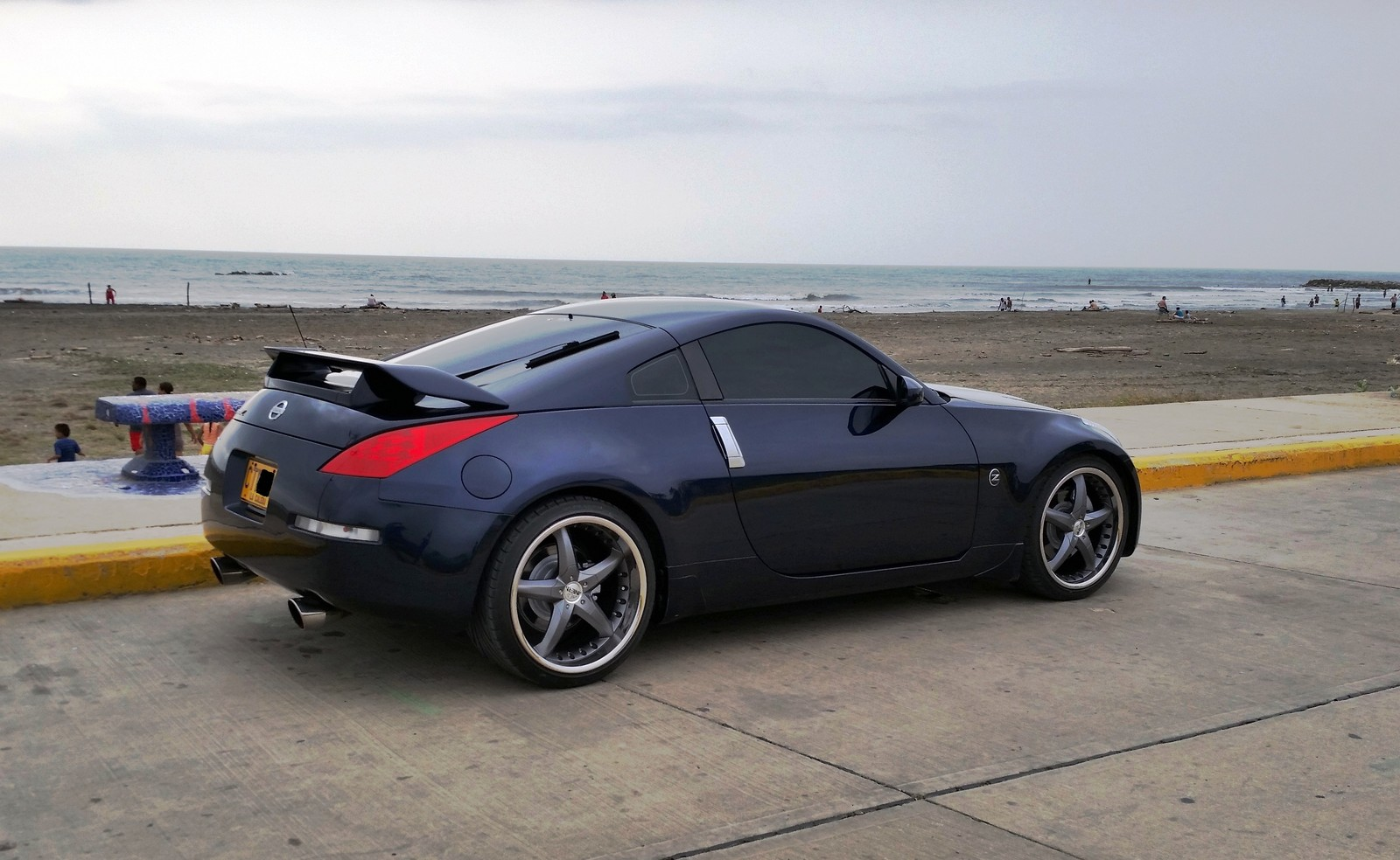 Blue 2007 Nissan 350Z Base Stillen Supercharged
