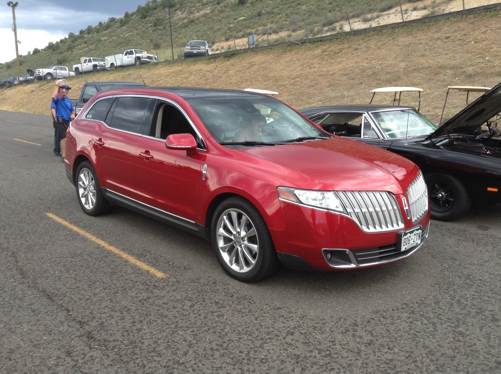 Red 2010 Lincoln MKT Ecoboost