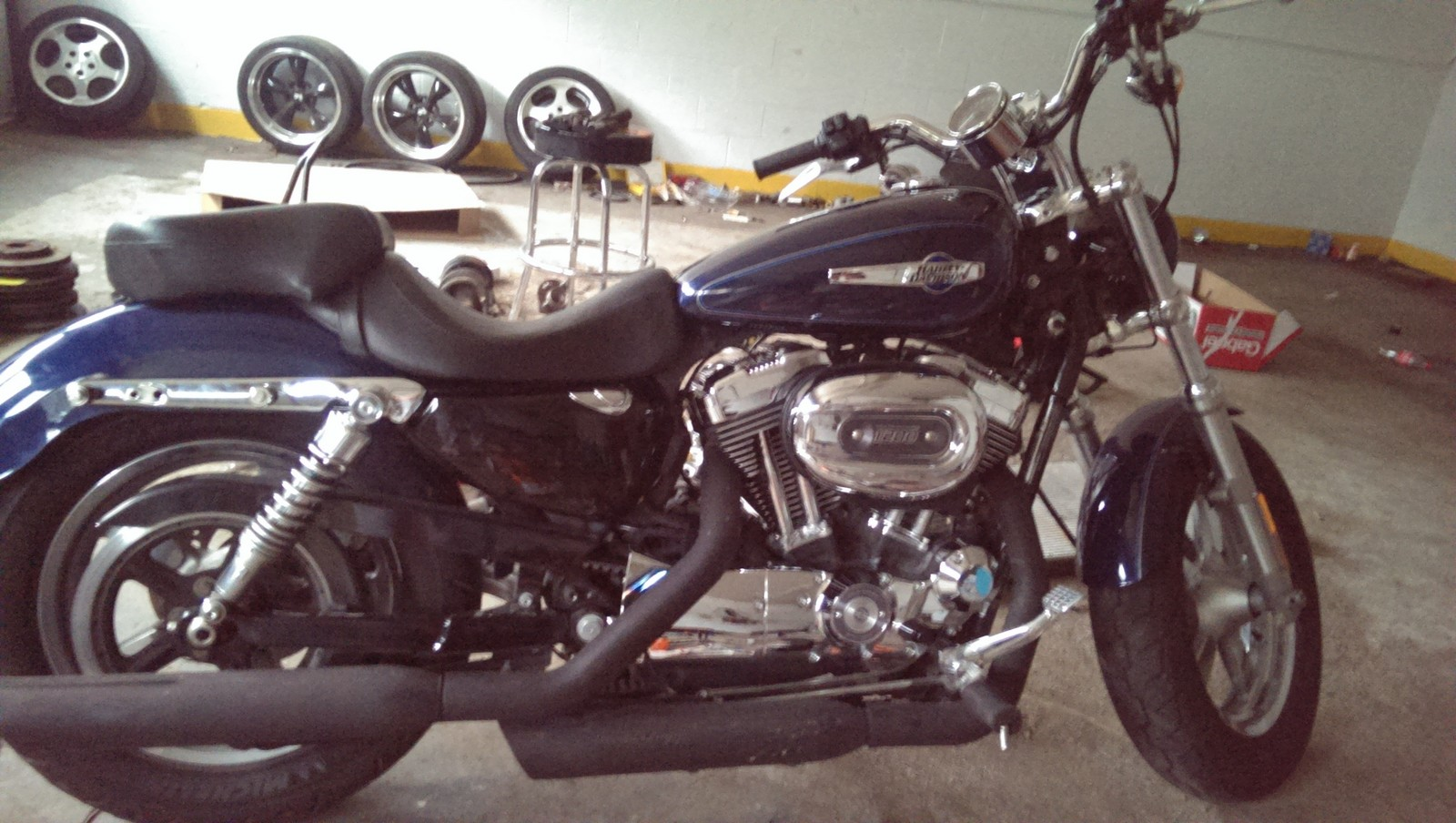 2012  Harley-Davidson Sportster xl1200 custom picture, mods, upgrades