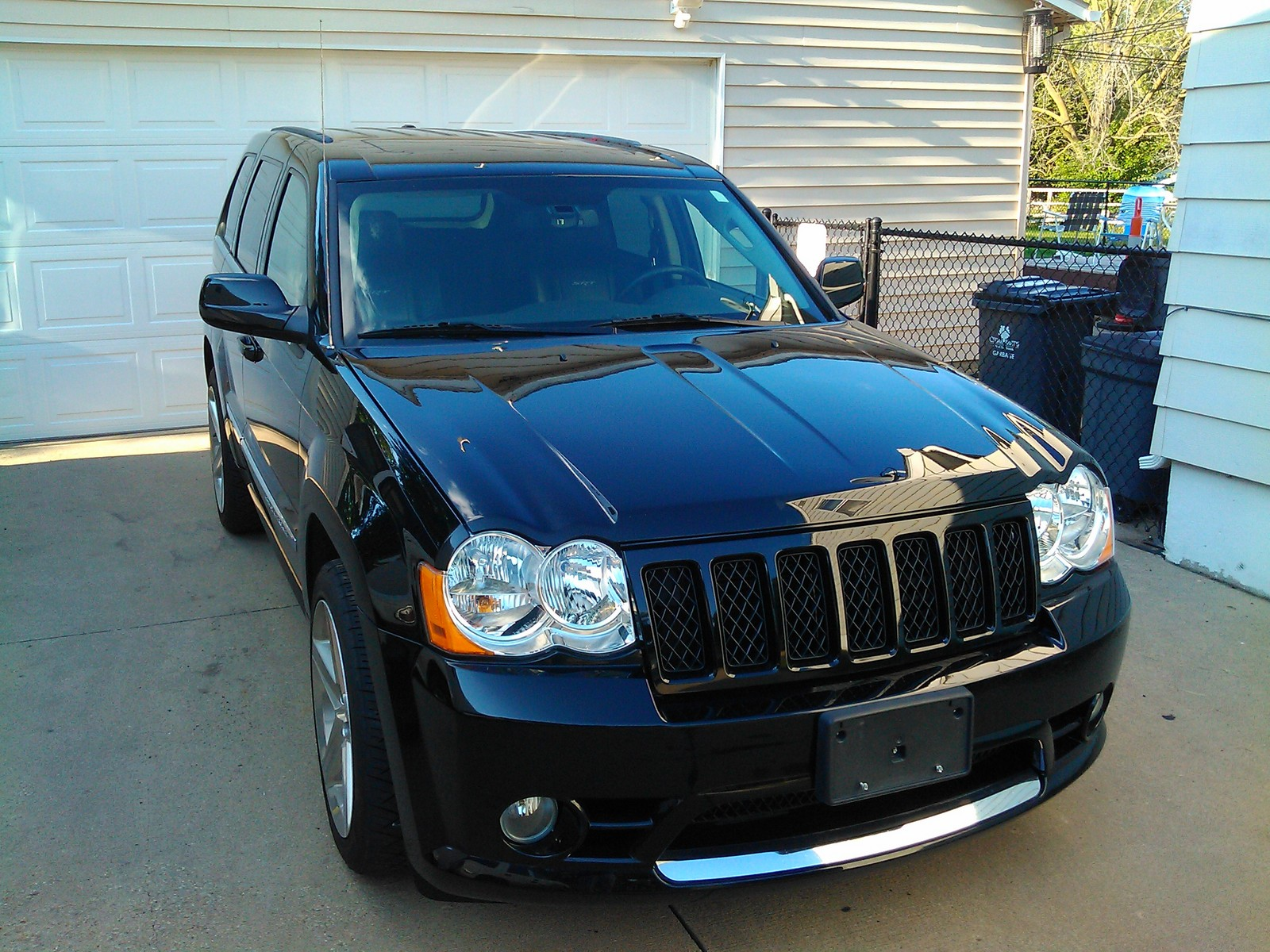 2008 jeep cherokee srt8 1/4 mile trap speeds 0-60 - dragtimes