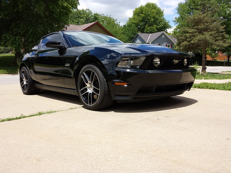 2012 Black Ford Mustang GT Premium picture, mods, upgrades