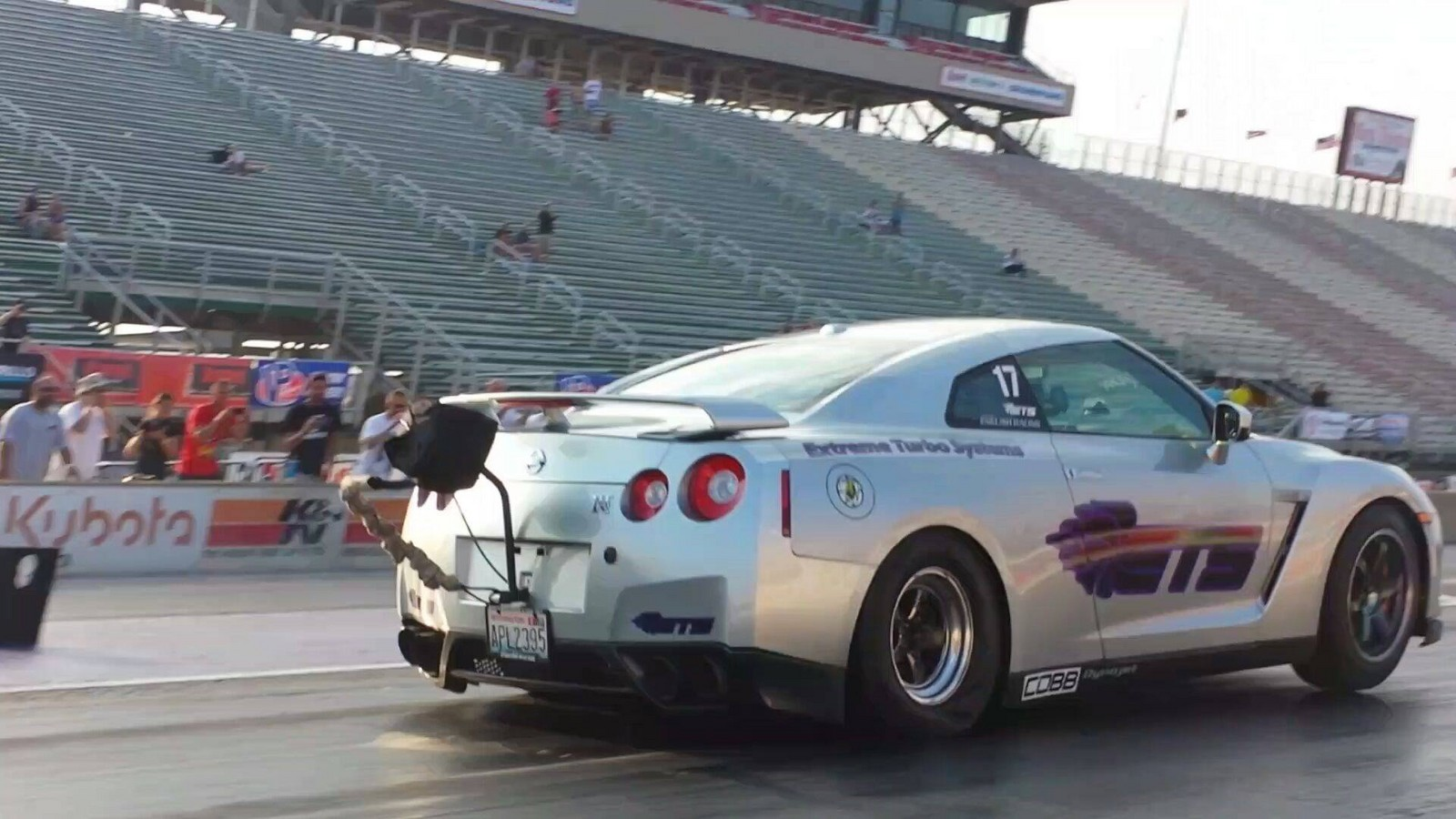 2009 Super Silver Nissan GT-R ETS Little Hero Super 99 picture, mods, upgrades