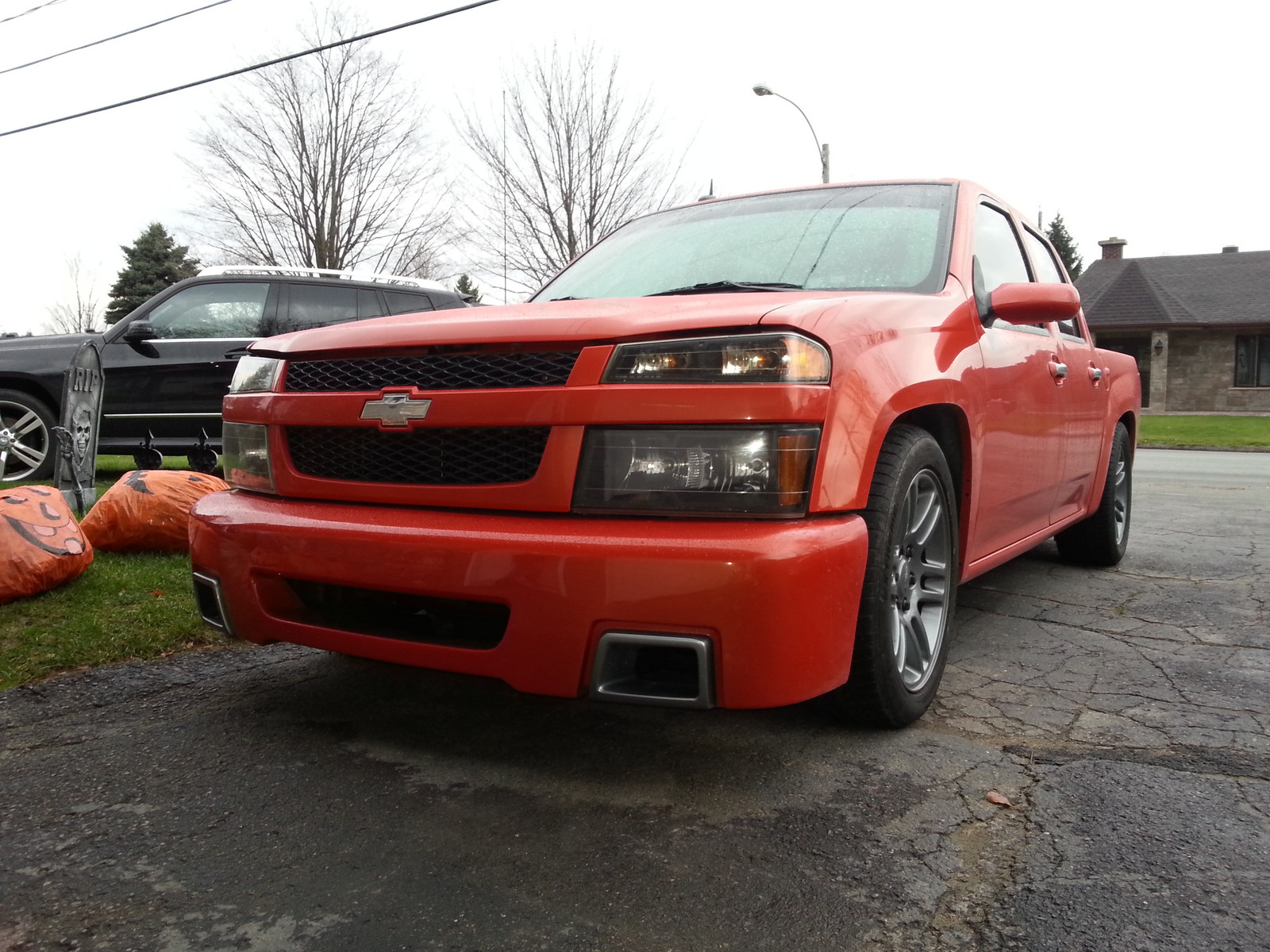Orange 2009 Chevrolet Colorado Sport