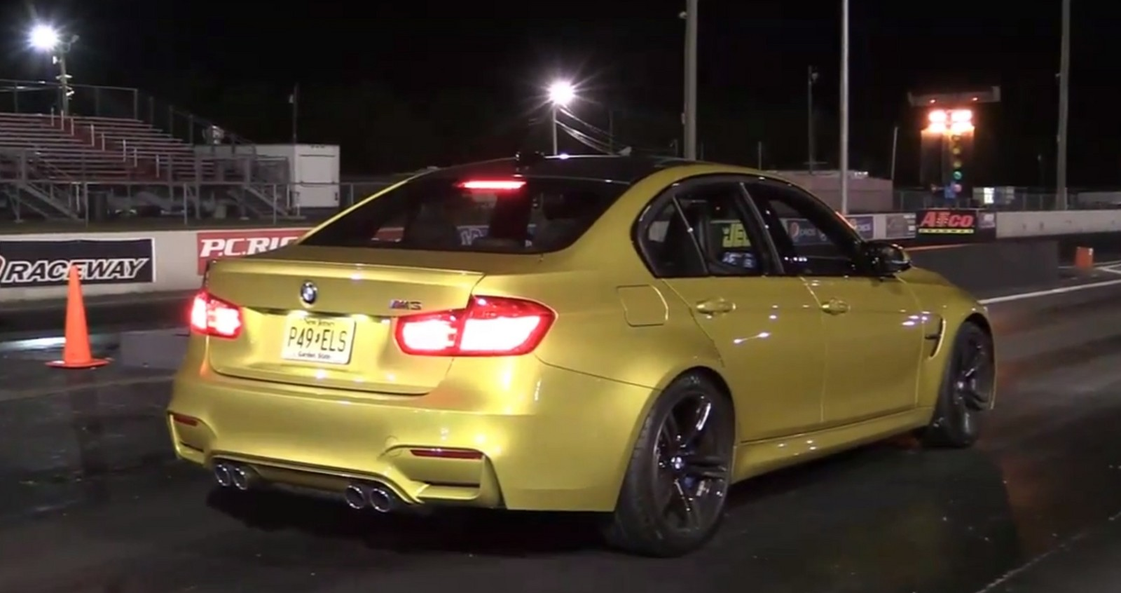Austin Yellow Metallic 2015 BMW M3 F80