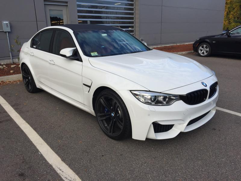 2015 Alpine White Bmw M3 F80 S55 Pictures Mods Upgrades