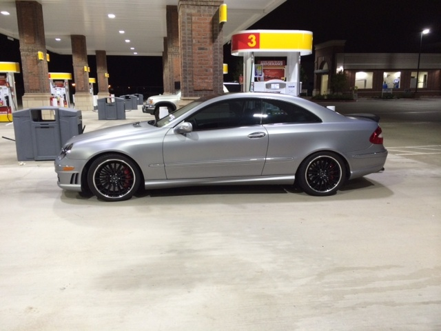 2004 mercedes benz clk55 amg amg 1 4 mile drag racing for Mercedes benz clk55 amg