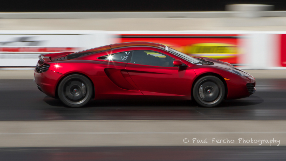 volcano Red 2012 McLaren MP4-12C coupe