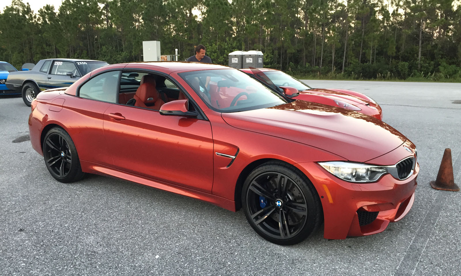 Sakir Orange 2015 BMW M4 Convertible