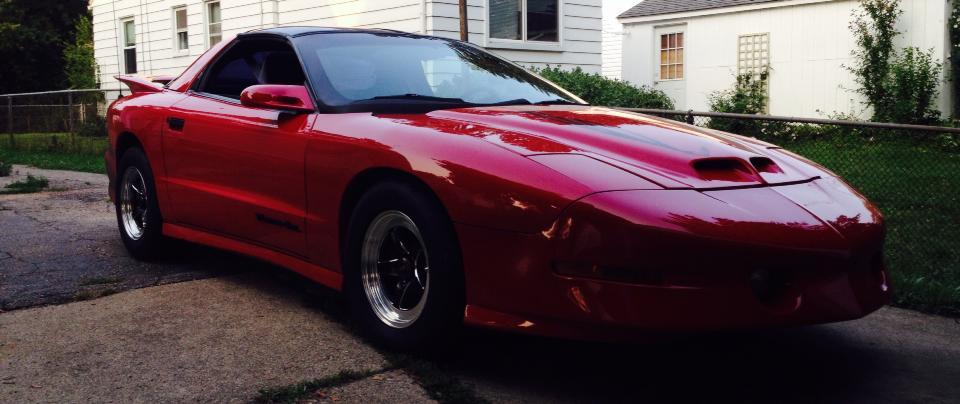 Red 1997 Pontiac Trans Am LT1
